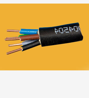 Fixed power cable