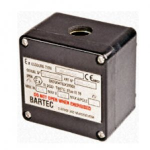 ex junction box for bartec